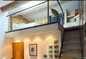 mezzanine chambre bureau design industriel cyrille piou