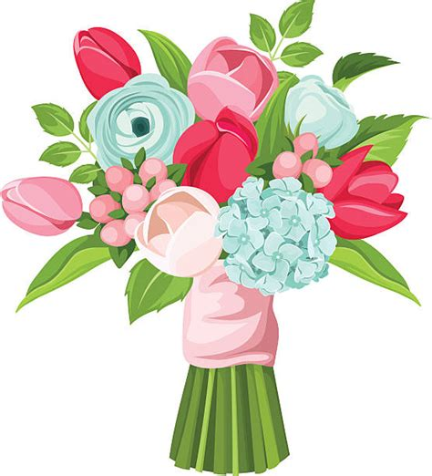 bouquet clipart bouquet clip vector images illustrations istock