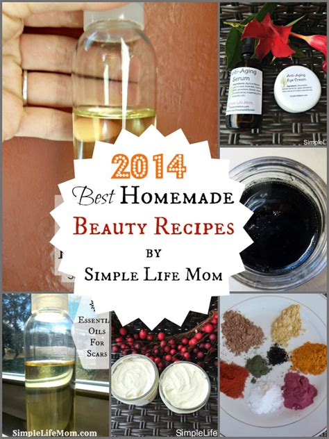 Handmade Cosmetics Recipes - 2014 best recipes simple