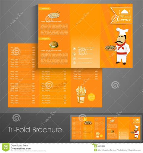 tri fold poster template stylish tri fold brochure template or flyer for