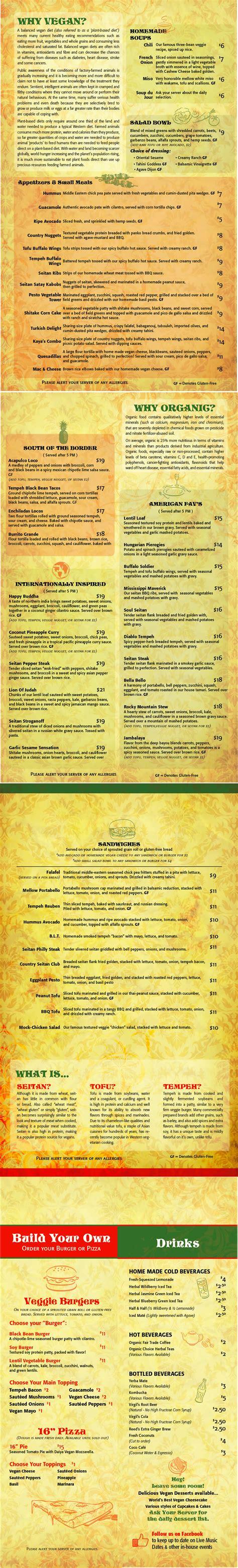 S Kitchen Vauxhall Nj Menu by Kaya S Kitchen Gluten Free 1000 St Belmar Nj 07719