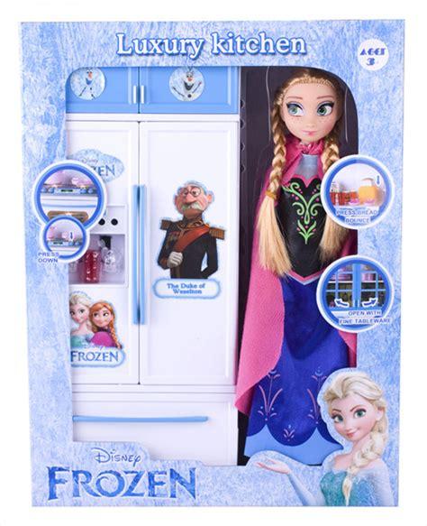 Mainan Kitchen Set Frozen With Doll frozen pretend play sets kitchenware doll series dex industrial co ltd