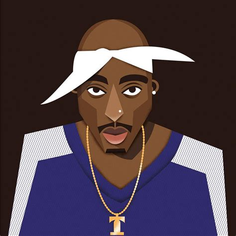 2pac Hip Hop tupac shakur tupac 2pac shakur illustration hiphop