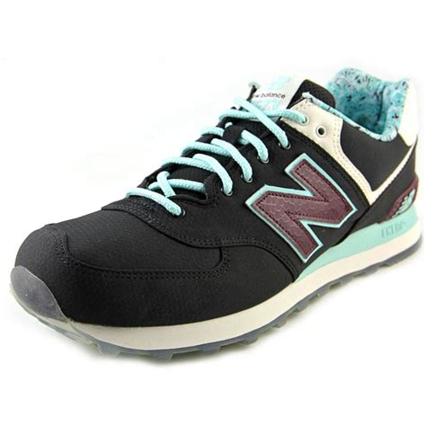 new balance mens sneakers new balance new balance ml574 mesh blue sneakers athletic