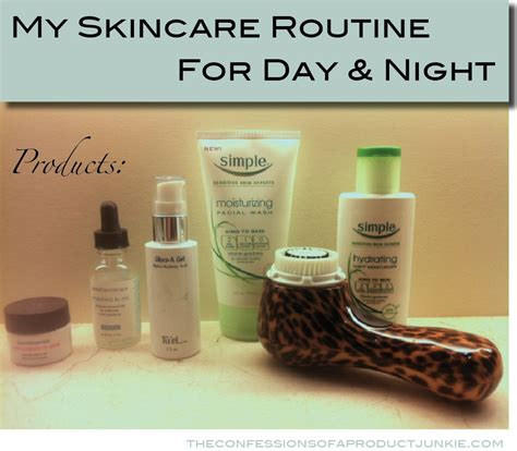 My Skin Care Routine February 2007 by My Skincare Products And Routine For Day And