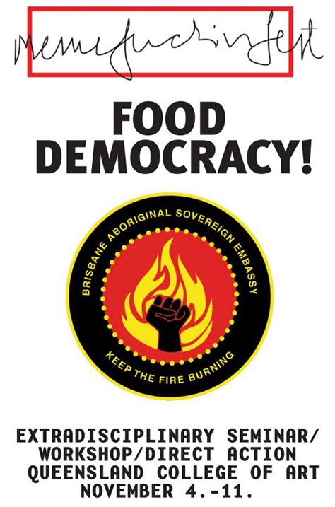 food democracy critical lessons in food communication design and socially repsonsive communication design and memefest interventions books keep the burning memefest qca food democracy