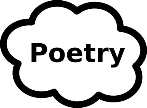 poetry clipart poetry book sign clip at clker vector clip