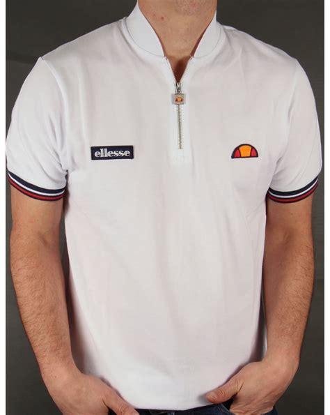 Tshirt Ellesse New One Tshirt ellesse vipiteno zipped t shirt white ellesse from 80s