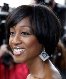 black american hair style on a circle to school african american short weave hairstyles for black women