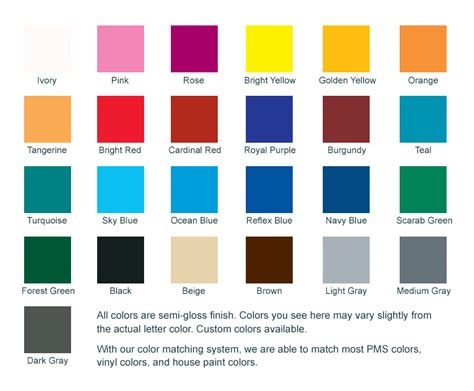 paint color chart paint color chart image search results