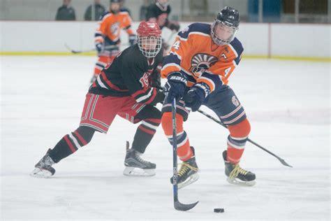chris blanchard hockey the high school hockey boys are hitting the ice pretty