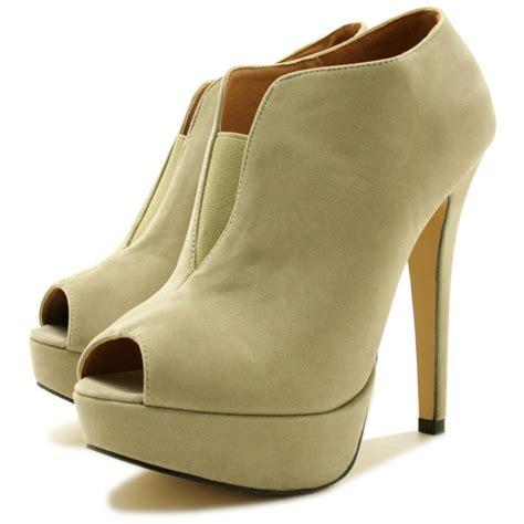 eleanor stiletto heel peep toe chelsea platform ankle