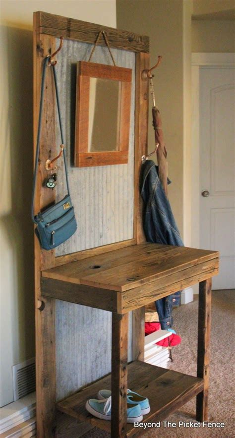 rustic hall tree bench rustic hall tree for the home pinterest vanities dr
