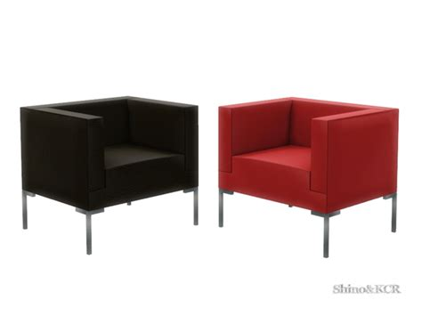 minimalist armchair the sims 4 living minimalist armchair by shinokcr