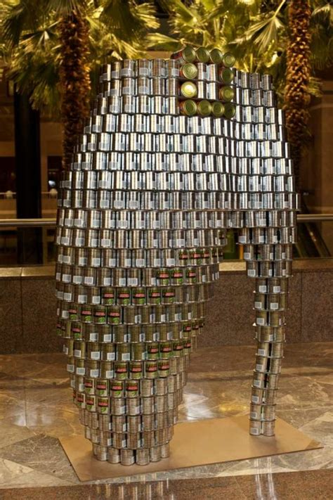 food sculptures 12 things you can make with tin cans food sculptures 12 things you can make with tin cans