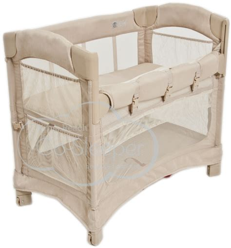 Mini Crib Co Sleeper Mini Ezee 2 In 1 Co Sleeper 174 Freestanding Bassinet And Bedside Sleeper By Arm S Reach 174 Concepts