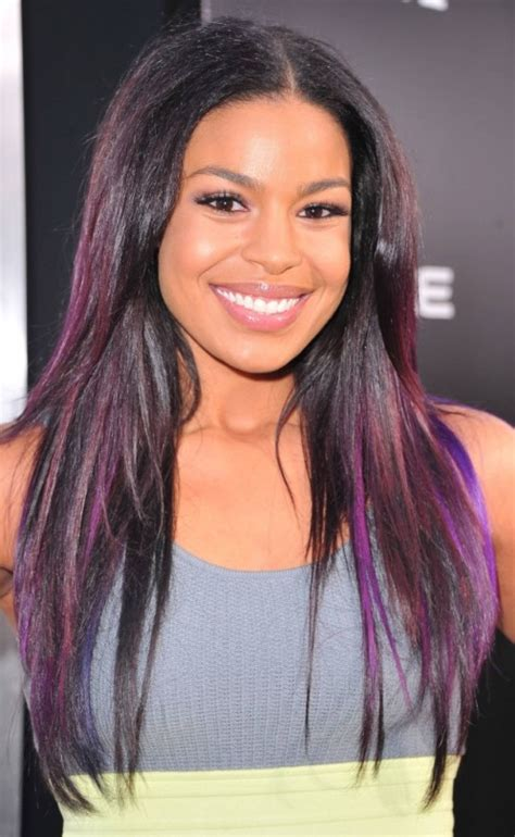Light Purple 15 Dresses by Black Hair With Violet Highlights Pictures