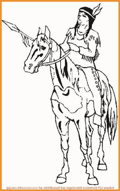 ausmalbilder pferde indianer rooms project