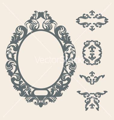 victorian pattern frame 20 black victorian frame vector images free victorian