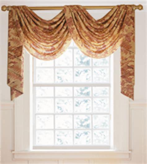 Cascading Window Valances Brookline Shade Top Cornices