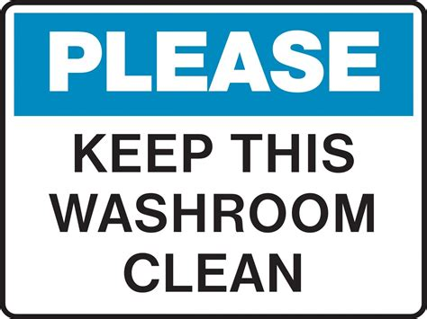 keep bathroom clean sign funny bathroom signs for cleanliness