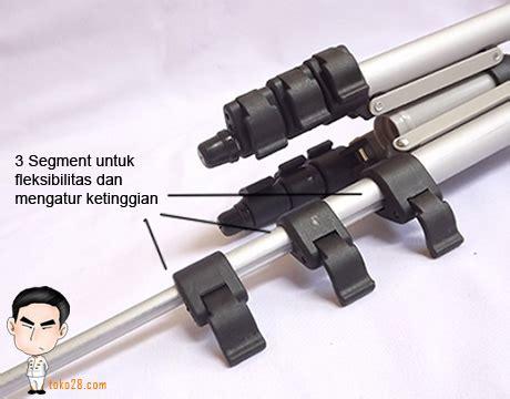 Tripod Untuk Kamera Prosumer tripod kamera prosumer tinggi 1 m berat 420gr kapasitas 1 5kg