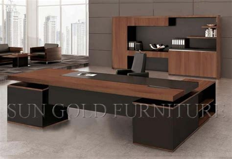 modern corner luxury office furniture l shape office desk