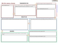 newspaper layout lesson plan universal design for learning lesson plan template by