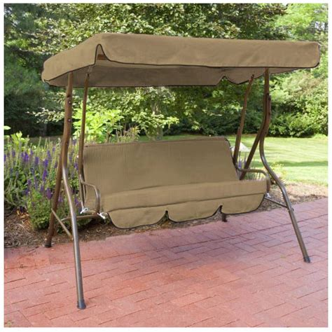 3 seat swing replacement cushions replacement 3 seater swing seat canopy cover and cushions