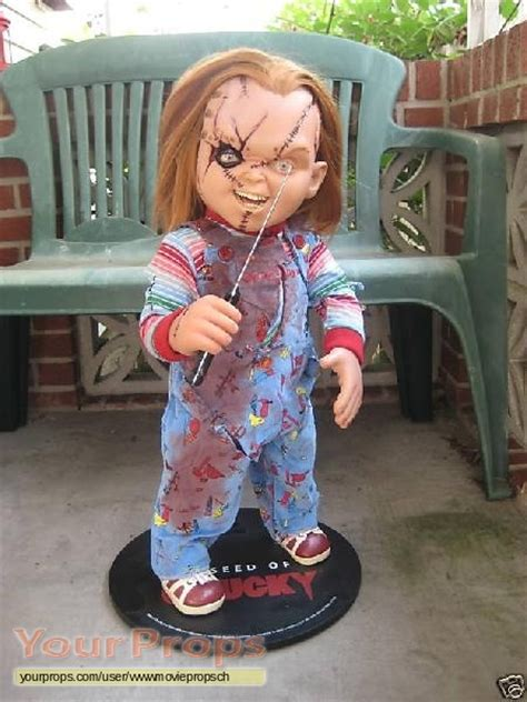 chucky movie prop for sale child s play 3 lifesize chucky puppet from sideshow