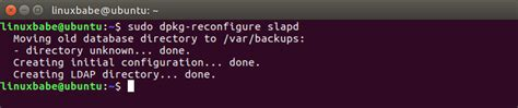 configure ubuntu ldap server how to install and configure openldap server on ubuntu 16