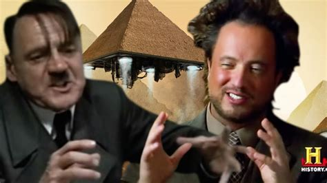 Chanel Allins watches ancient aliens