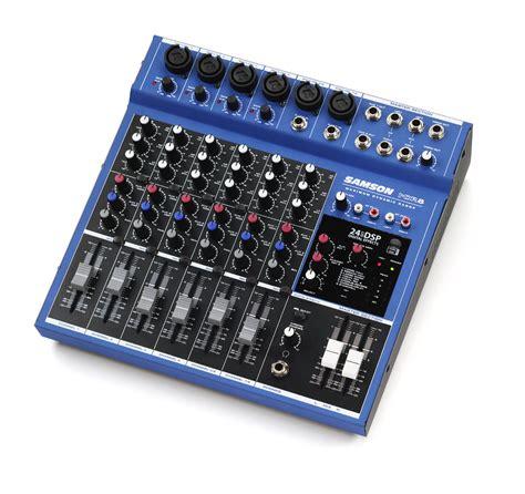 Mixer Audio Samson forums samson technologies mdr8 audiofanzine