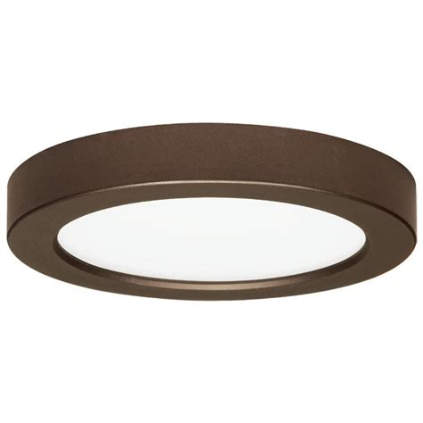 Low Profile Ceiling Light by 7 Inch Bronze Low Profile Led Flushmount Ceiling
