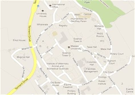 campus maps massey university
