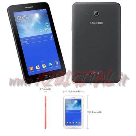 Tablet Samsung Lite 3g tablet samsung galaxy tab 3 lite ve sm t116 7 quot pollici 8gb