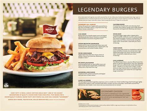 Backyard Burger Rock Menu For Rock Cafe 1 Seminole Way
