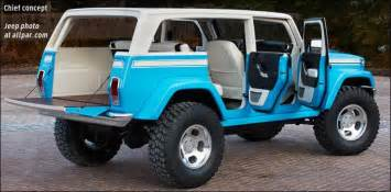 Jeep Wagoneer Concept Ruge S Cdj Just Another Site