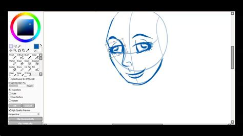 paint tool sai picture quality paint tool sai tutorial copy paste