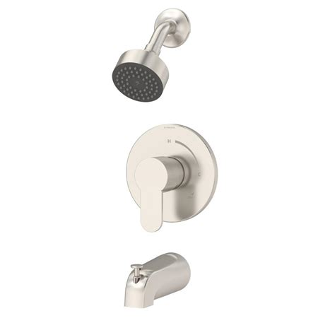 Symmons Tub And Shower Valve by Symmons Identity 1 Handle Tub And Shower Faucet Trim Kit