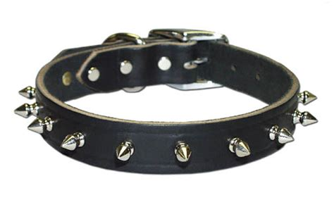 spike collar leather brothers pet collars leather collars collars big collars sunglo