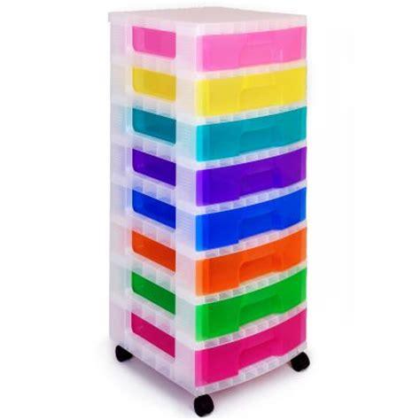 really useful rainbow storage tower 8 drawers hobbycraft