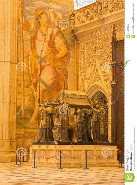 Columbus Door by Sevilla Het Graf Christopher Columbus Door Arturo