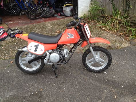 how to road a motocross bike honda qr50 automatic kids1980s motocross road bike not