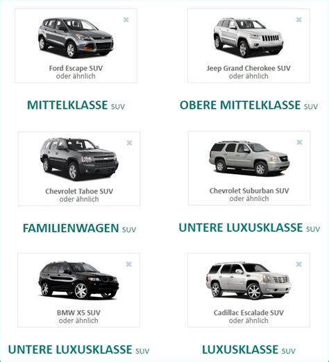 Auto Mieten Amerika by Sunny Cars Mietwagen Suv Usa Mieten