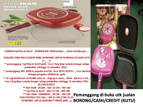 Pemanggang Ajaib Borong marshaena collection runcit borong kredit kutu