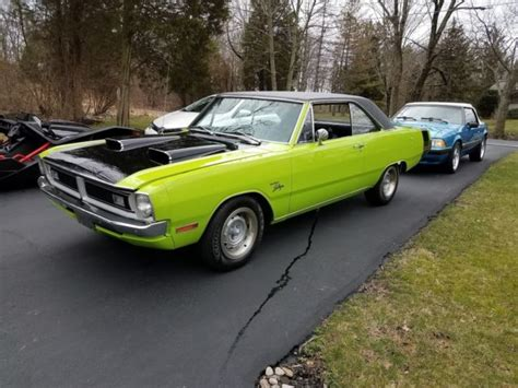 swinging plymouth 1971 dodge demon blue for sale upcomingcarshq com
