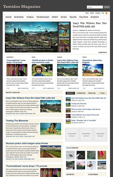 yamidoo magazine wordpress theme wpthemes com