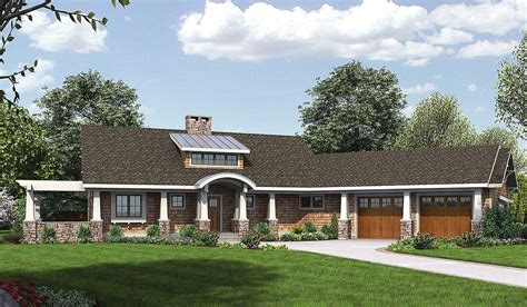 home house plans attractive angled ranch home plan 18271be architectural designs house plans