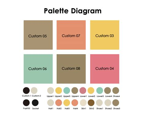 create your own color palette how to infographic palettes